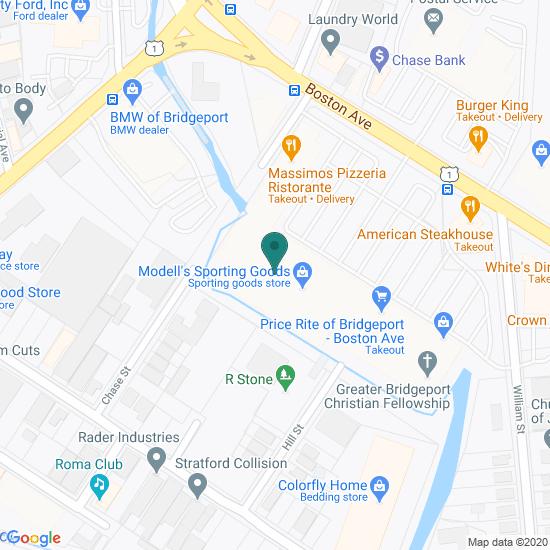 Map of Bridgeport